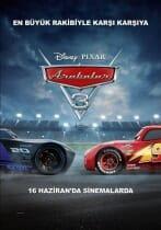 Arabalar 3 Türkçe Full HD Film izle